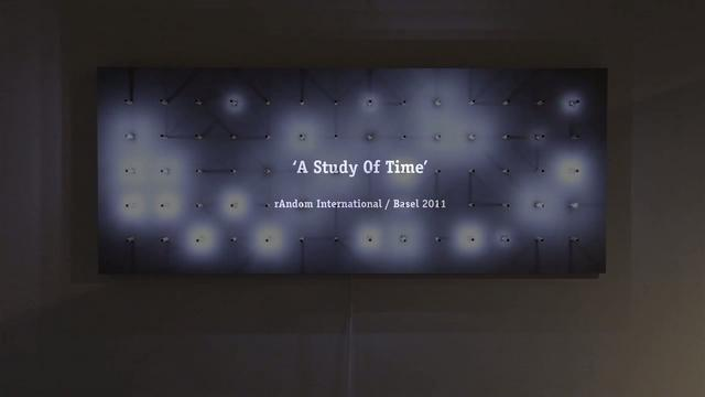 Random International / Study of Time