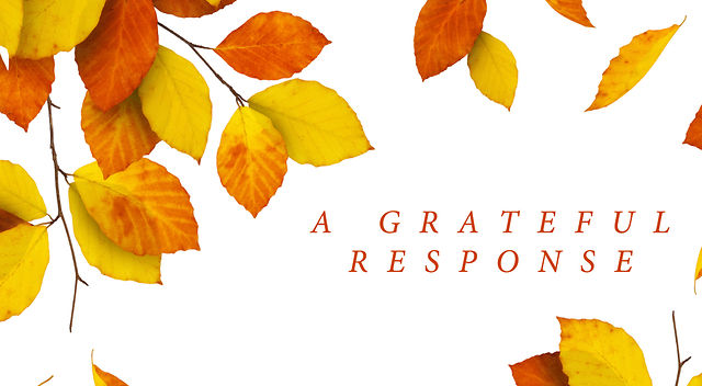 "11.20.2011 / ""A Grateful Response"" - Pastor James Green"