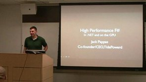 High Performance F# in .NET and on the GPU with Jack Pappas