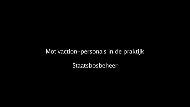 Motivaction-persona&#039;s in de praktijk: Staatsbosbeheer (branded version)