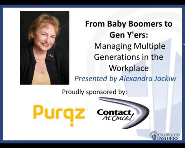 From Baby Boomers to Gen Y'ers: Managing Multiple ...
