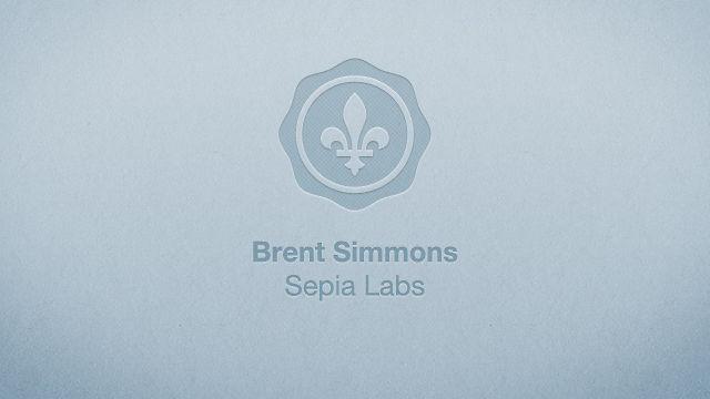 Brent Simmons - Çingleton 2011