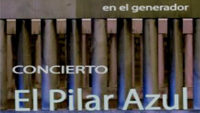 CONCIERTO de EL PILAR AZUL en el GENERADOR