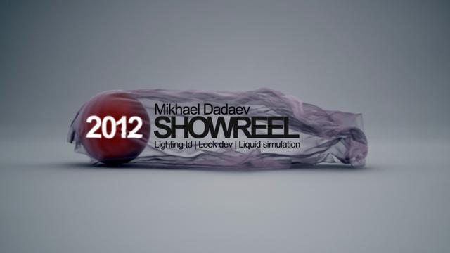 CG Showreel 2012 (Lighting and Liquid Simulation)