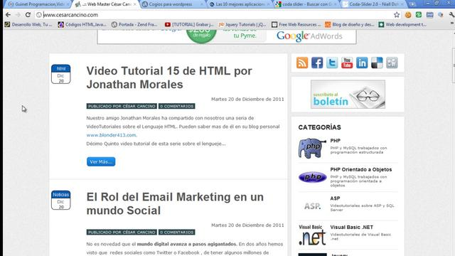 WordPress - Hacer un theme para WordPress 05