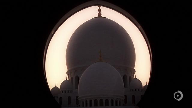 Sheikh Zayed Grand Mosque Projections - Abu Dhabi, U.A.E.