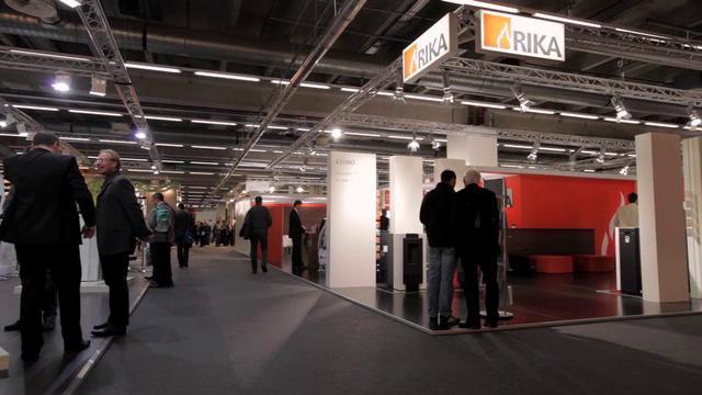 rika kamin und pellet fen messeauftritt ish frankfurt 2011. Black Bedroom Furniture Sets. Home Design Ideas