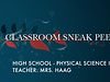 FPE Sneak Peek - High School Physical Science