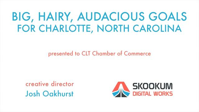 SDW Creative Director Josh Oakhurst on Big Ideas for Charlotte
