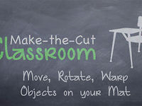 Selecting an Object in Make the Cut - MTC Classroom