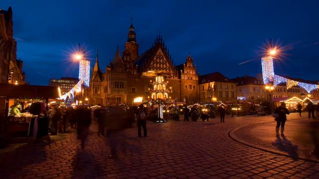 Wroclaw - The meeting place Time-lapse