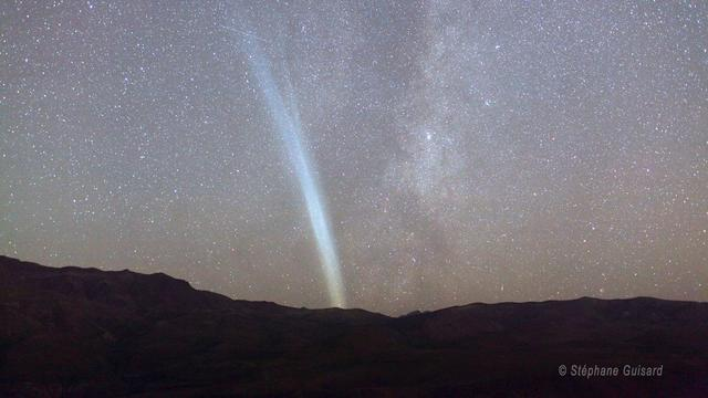 La cometa Lovejoy, vista dalle Ande
