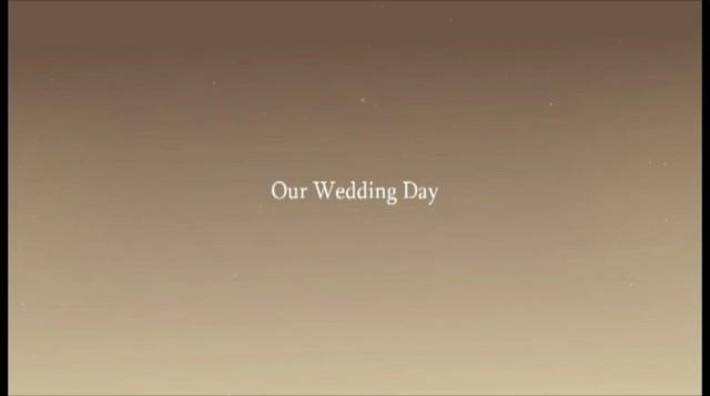 Animation Wedding...