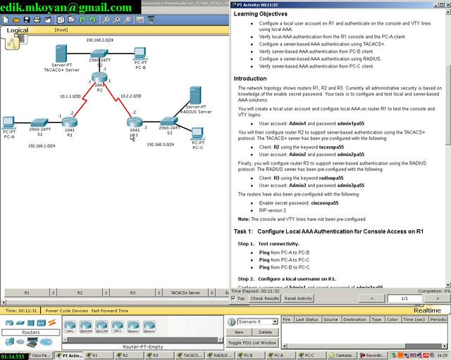 Packet Tracer Espanol