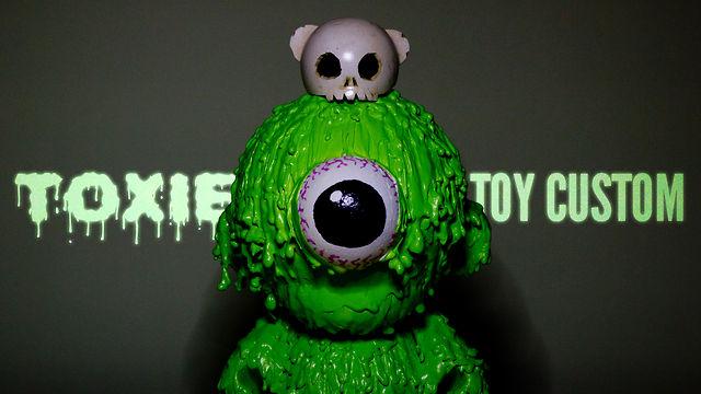 'TOXIE' Munny Vinyl Toy Custom