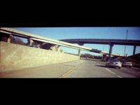 LomoKino while driving 70mph (00:13)