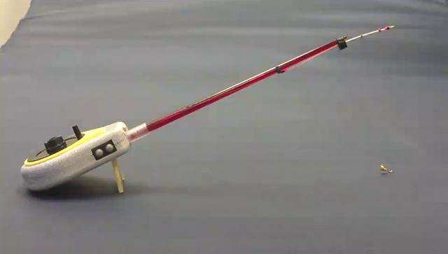 Electric ice fishing rod good luck 1 part on vimeo for Electric fishing rod