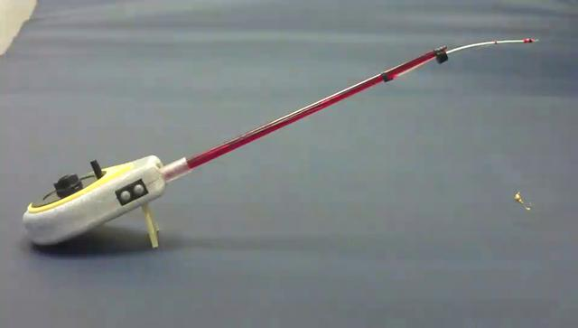 electric ice fishing rod good luck 2 part on vimeo