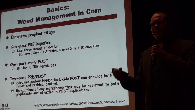 Bryan Young, Southern Illinois University, Session B - Cover Crop Termination