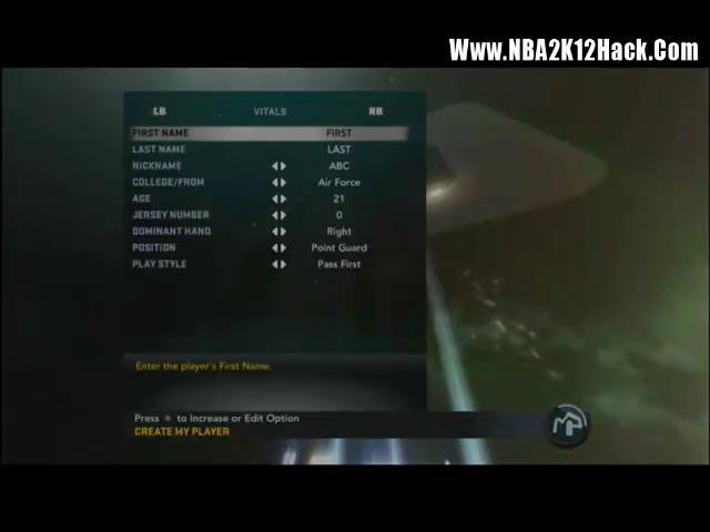 Nba2k12 My Player Cheats Xbox 360