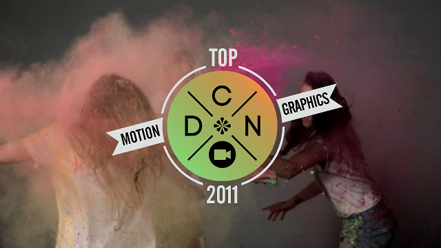 Designcollector Top 2011 x Motion Graphics