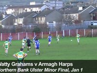 Goal! Watty Grahams win Ulster!