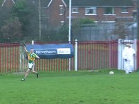 Goal 2! Watty Grahams beat Armagh Harps
