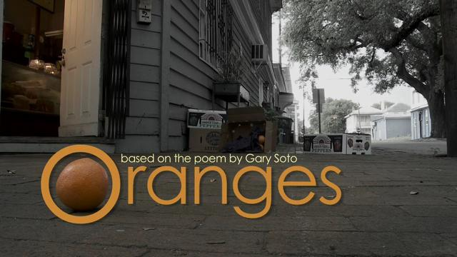 oranges based on the poem by gary soto on vimeo. Black Bedroom Furniture Sets. Home Design Ideas