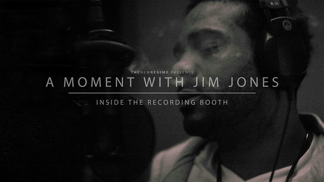 A Moment with Jim Jones: Inside the Recording Studio