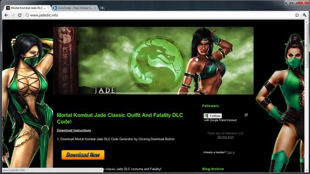 Mortal Kombat 9 Jade Classic Outfit And Fatality DLC Code Leaked