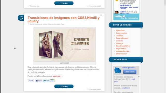 WordPress - Hacer un theme para WordPress 07