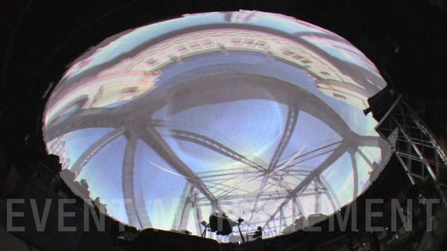 Lo show nella Cupola - Caratteristiche Tecniche