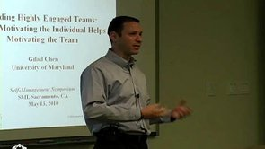 Building Highly Engaged Teams - Gilad Chen, PhD