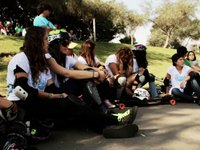 Daddies Girls Skate Clinic - Lima, Peru