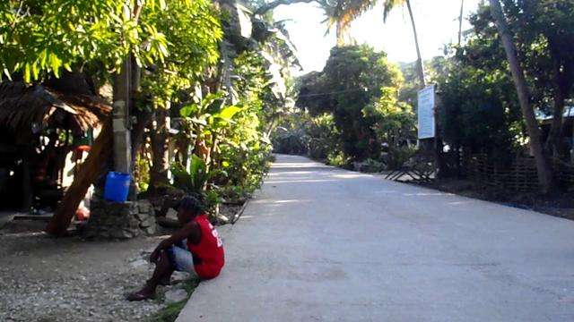 Street view in small village, Romblon Island