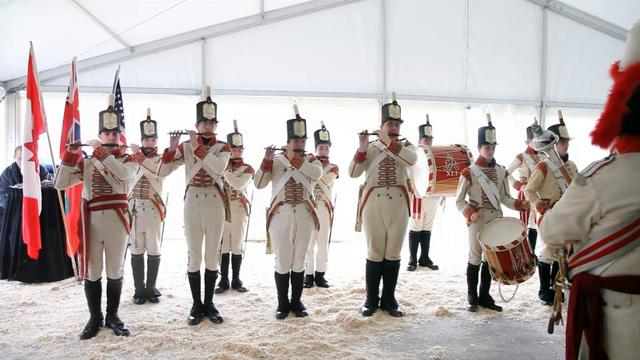 """Yankee Doodle Dandy"" by Fort George Fife and Drum Corps, Niagara on the Lake"
