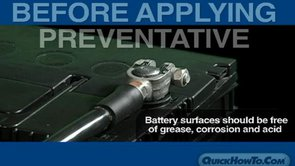 Quick Aerosol Preventatives for Battery & Battery Terminals