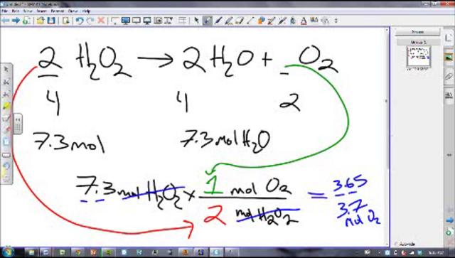 Stoichiometry part 2 - grams to grams and grams to liters