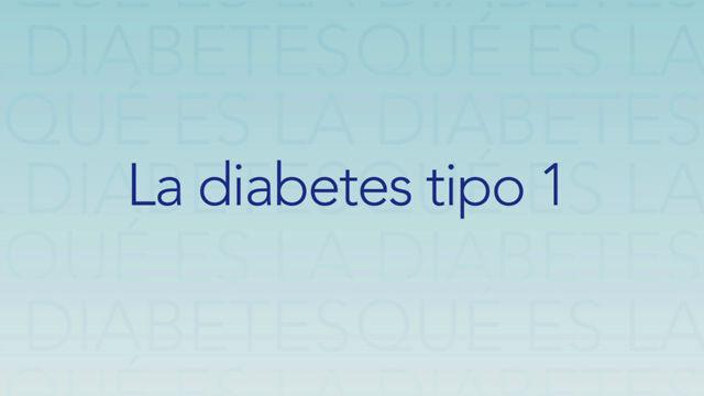 ¿Qué es la Diabetes?: Tipo 1 on Vimeo