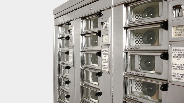 """24 Sound contributions in automat"" (2005) by Zimoun"