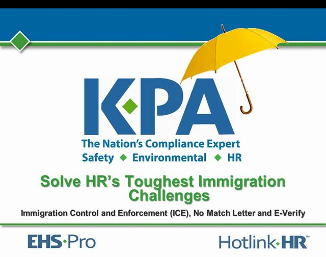 Solve HR's Toughest Immigration Challenges