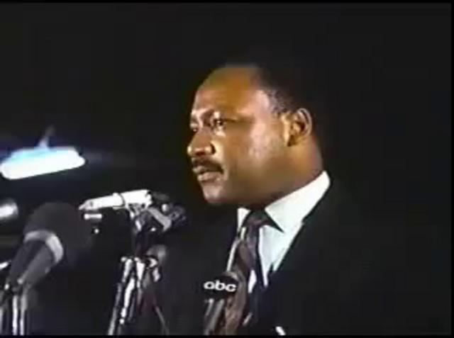 Dr. Martin Luther King Jr - Last speech on Vimeo