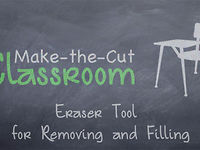 Eraser Tool - Removing and Filling in Make the Cut Software