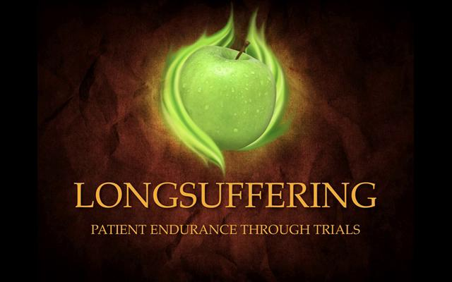 the fruit of the spirit longsuffering The fruit of the spirit - longsuffering longsuffering, patient is the character of god and is a manifestation of his presence at work in our lives this sermon examines the longsuffering of god, our need of patience and it's development in the life of the believer.