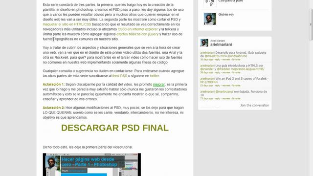 WordPress - Hacer un theme para WordPress 08