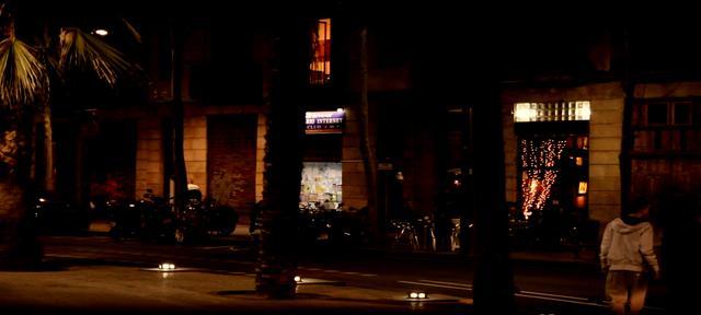 <p> El Raval as Night Falls</p>