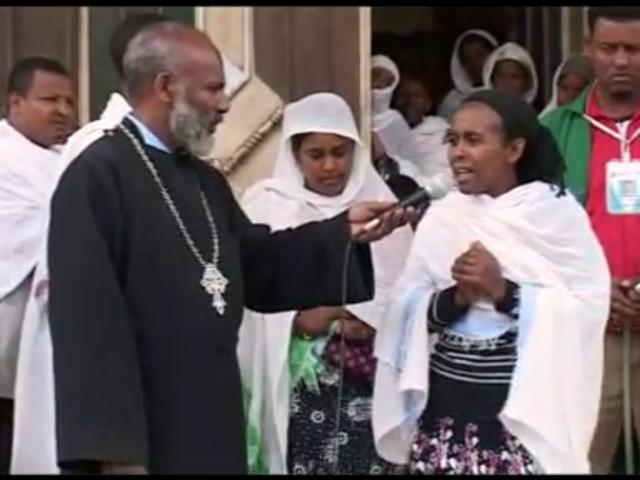 Orthodox Tewahedo Miracles - Memehir Girma Wondimu - vcd 15 - part B