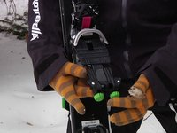 New Rottefella NTN Freedom Telemark Binding -- Telemark Skier Magazine-Outdoor Retailer On Snow 2012