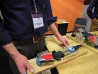 New 22 Designs Vice Telemark Binding -- Telemark Skier Magazine-Outdoor Retailer 2012