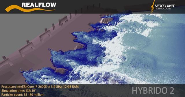 Massive Fluid. RealFlow 2013 is coming!